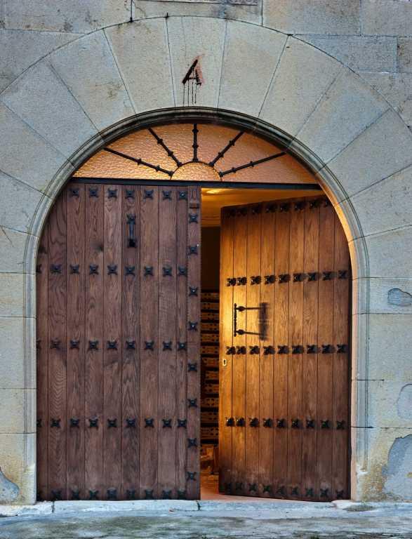 Puerta Principal Abierta
