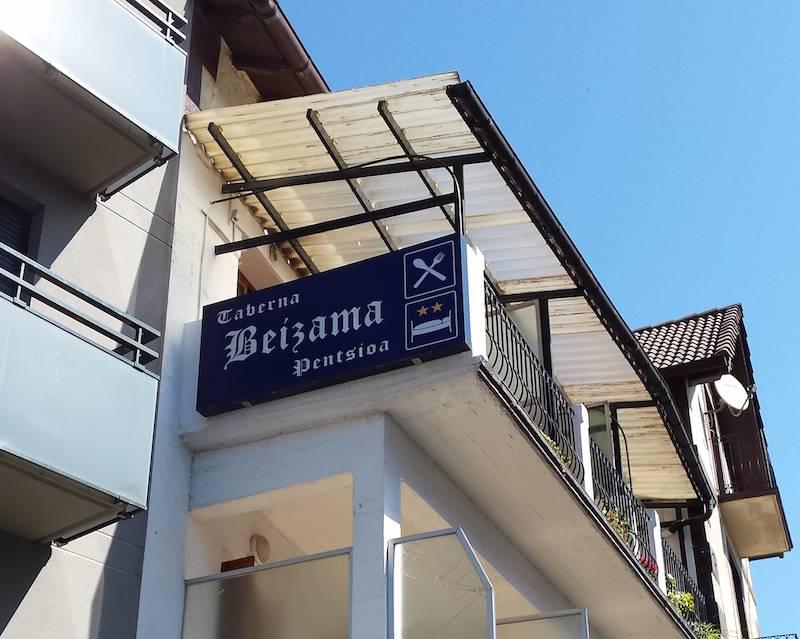 PENSION BEIZAMA fachada