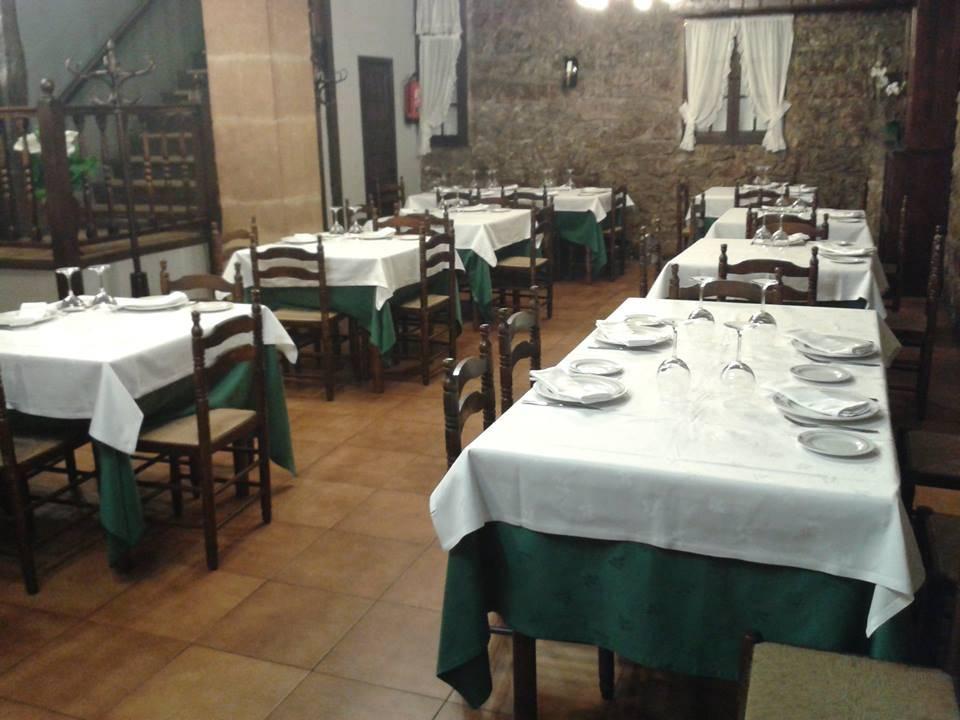 Comedor del restaurante Txokolo asador
