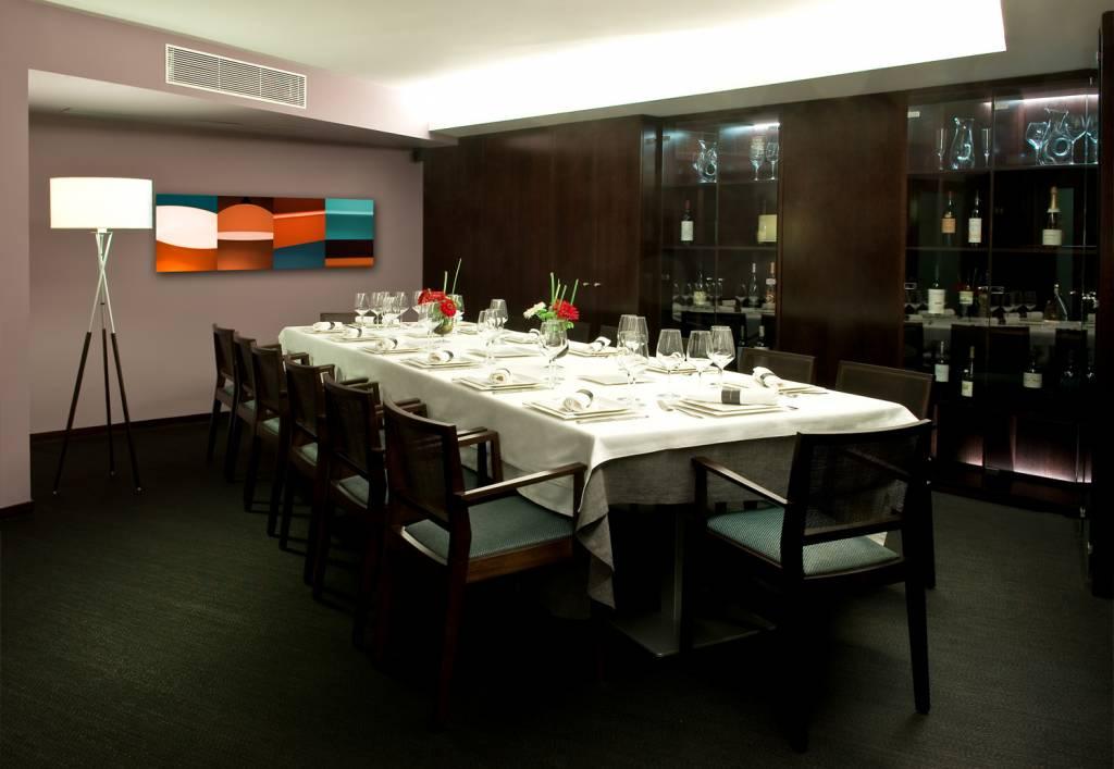 Restaurante Abakando comedor