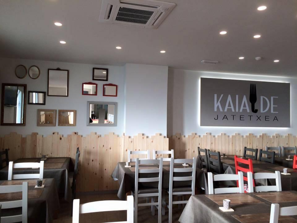 Kaialde Restaurante al detalle