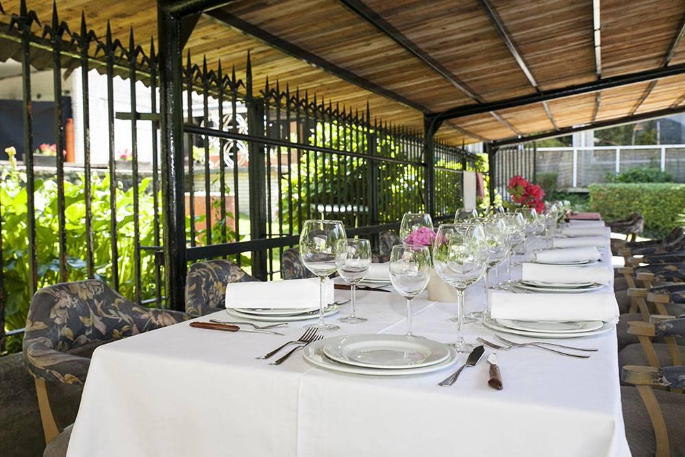 Restaurante Tartufo  Terraza