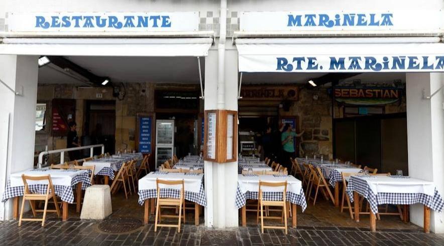 Restaurante Mariñela en Donostia