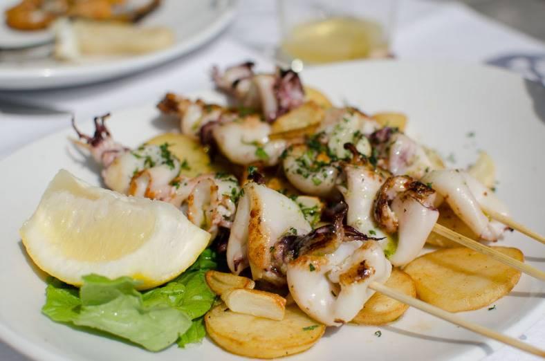 Restaurante Igeldo en el puerto de San Sebastián