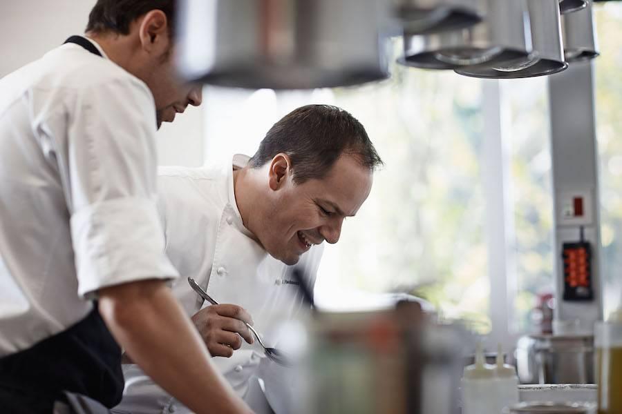 Restaurante Bailara en Bidania, cocina