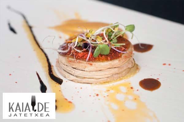 Kaialde Restaurante en Lezo menudos platos!