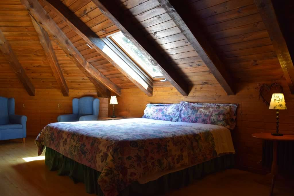 Habitación Junior Suite abuhardillada